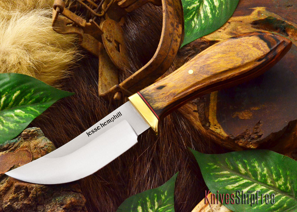 Jesse Hemphill Knives: DeKalb Series - High Falls - Desert Ironwood - #4 primary image
