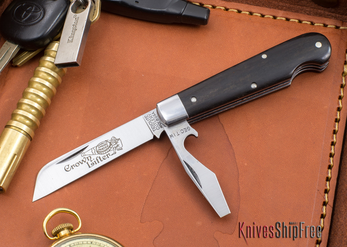 Great Eastern Cutlery: #15 - Tidioute - Crown Lifter - Gabon Ebony primary image
