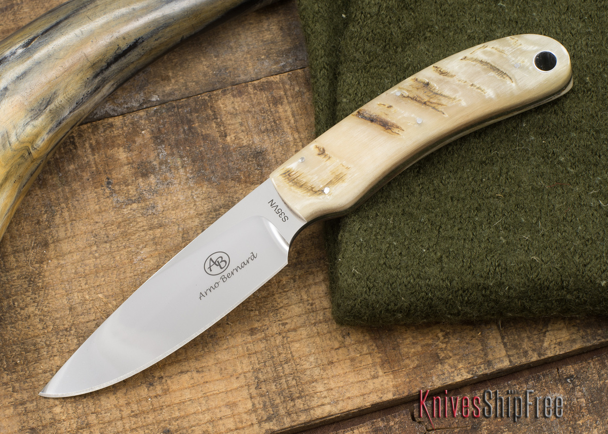 Arno Bernard Knives: 2015 Featured Knife Series - Sheep Horn - 110420 primary image