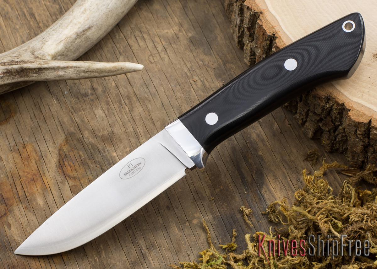 Fallkniven: Custom F1 - Black G-10 primary image