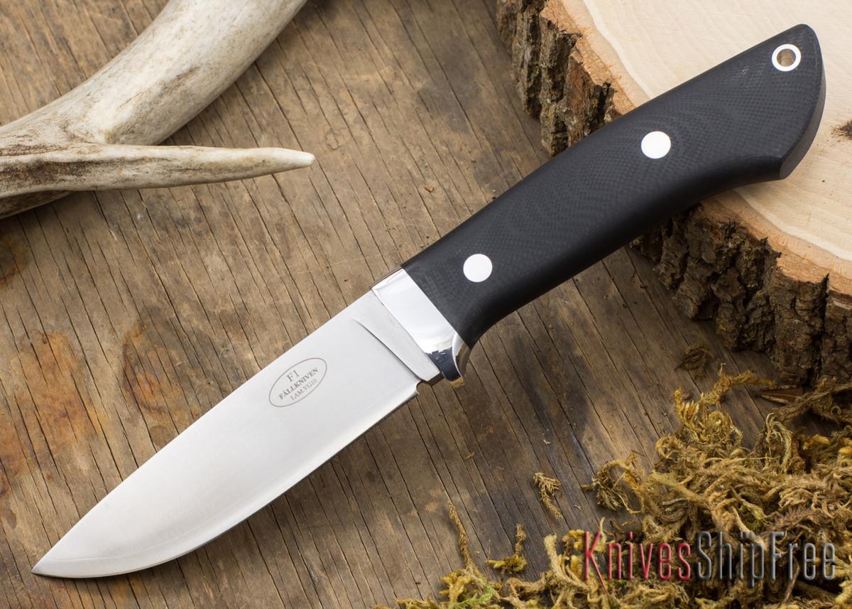 Fallkniven: Custom F1 - Black G-10 - Matte primary image