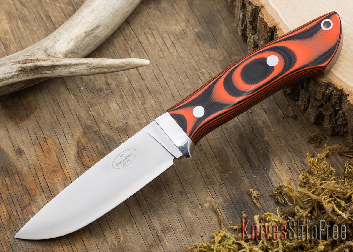 Fallkniven: Custom F1 - Tigerstripe G-10 primary image