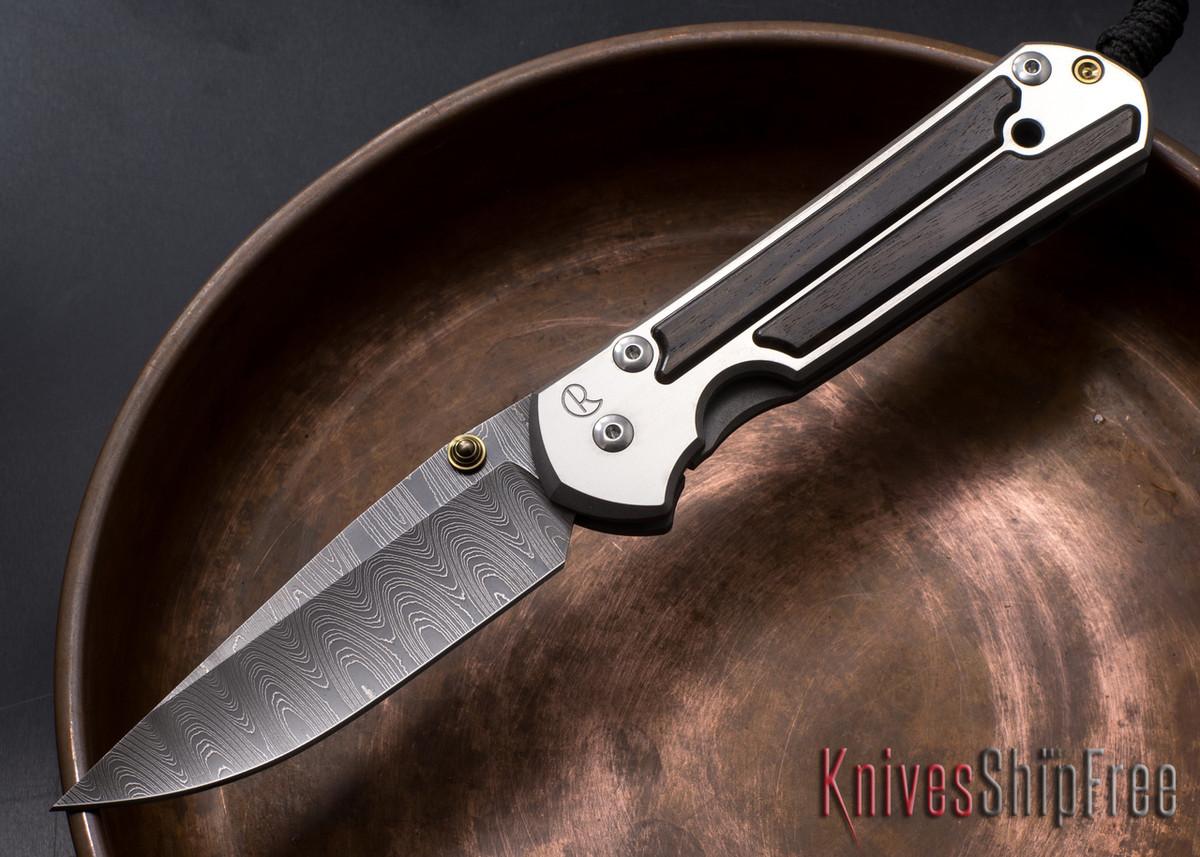 Chris Reeve Knives: Large Sebenza 21 - Macassar Ebony - Ladder Damascus - 010616 primary image