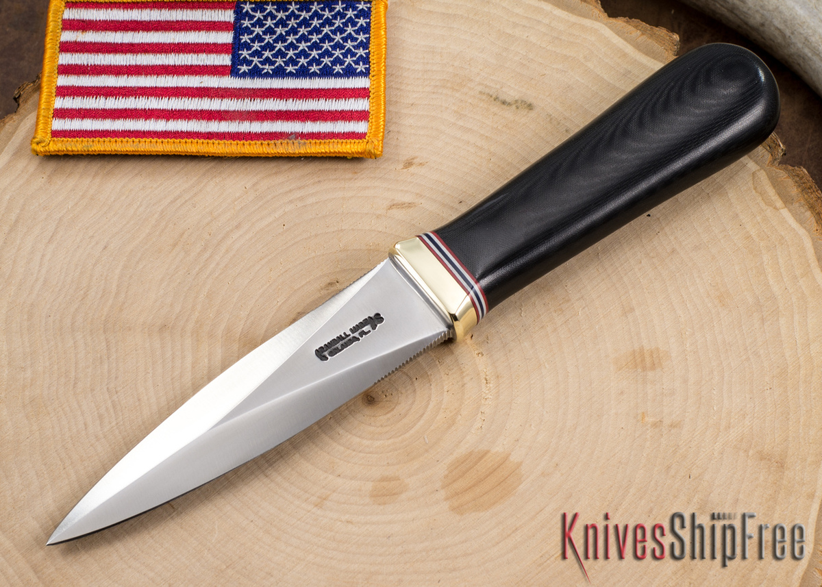 Randall Made Knives: Model 24-4 Guardian - Black Micarta primary image