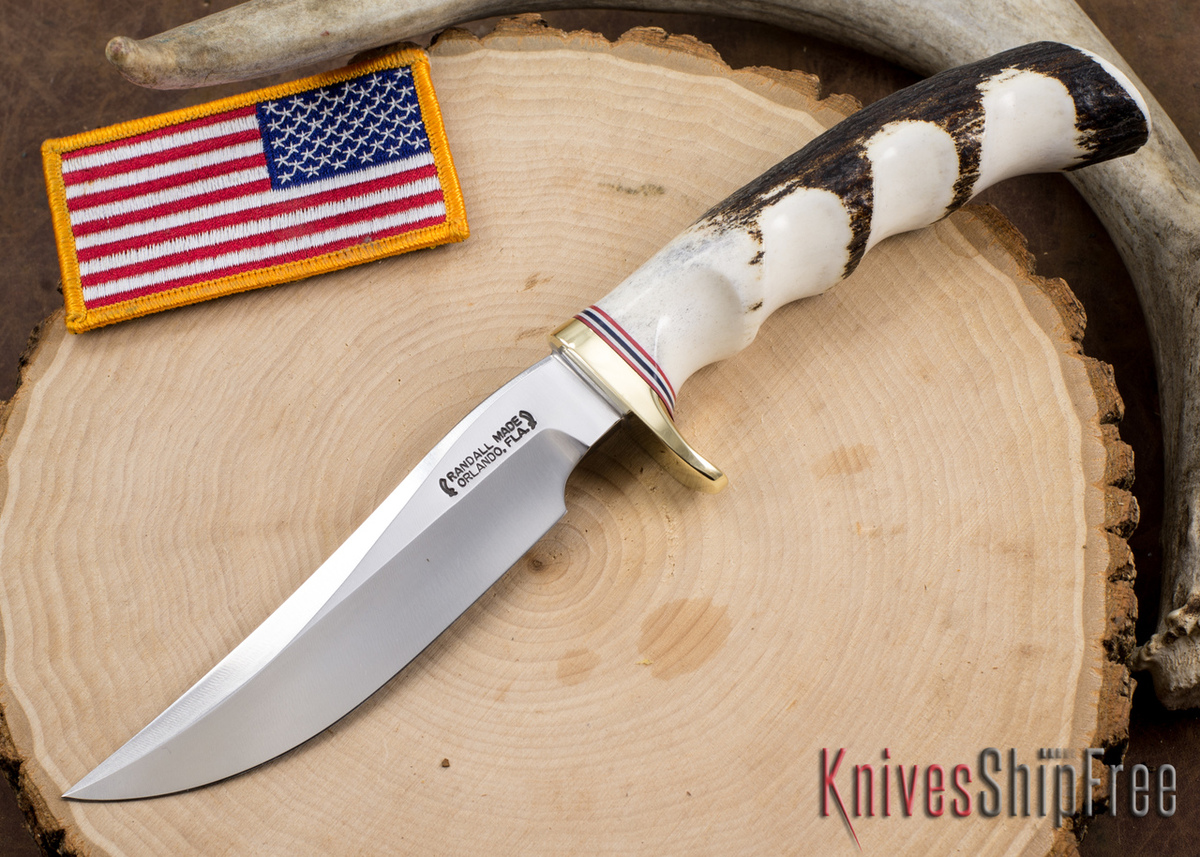 Randall Made Knives: Model 3-5 Hunter - Genuine Stag #3 primary image