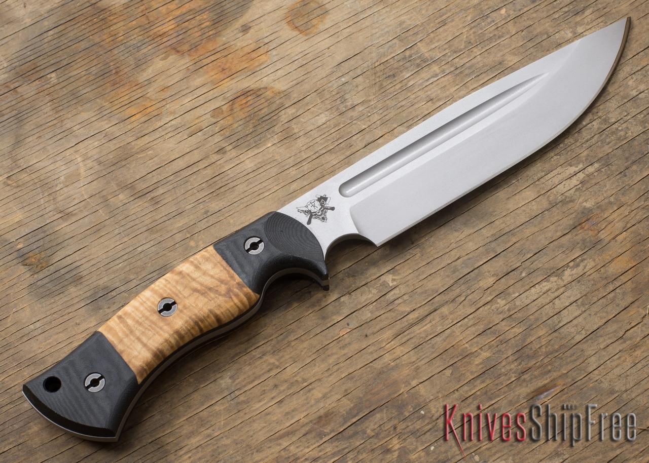 dark timber knives honey badger maple. Black Bedroom Furniture Sets. Home Design Ideas