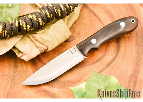 Hyken Knives: Bushcrafter CPM-154 - Desert Ironwood #3