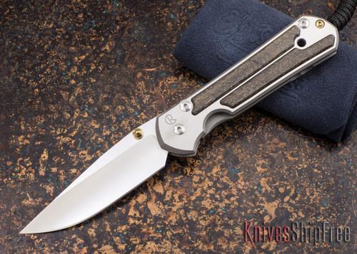 Chris Reeve Knives: Large Sebenza 21 - Bog Oak - 011820