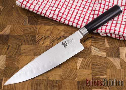 """Shun Knives: Classic Hollow Ground Chef's Knife 8"""" - DM0719"""