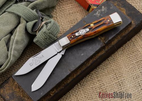 Queen Cutlery: Gunstock Jack Pint - 042140 - Jigged Bone