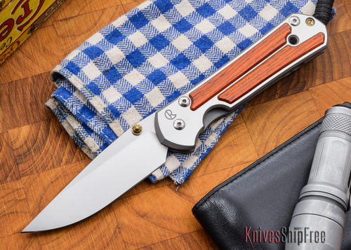 Chris Reeve Knives: Large Sebenza 21 - Cocobolo - L