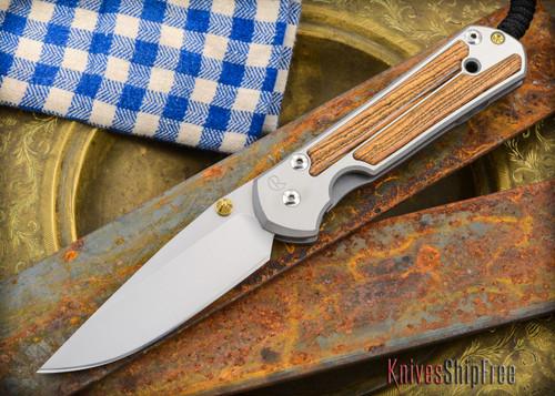 Chris Reeve Knives: Large Sebenza 21 - Bocote Inlay - 011303