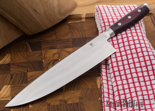 "Yaxell: Red Dragon - 10"" Chef's Knife"