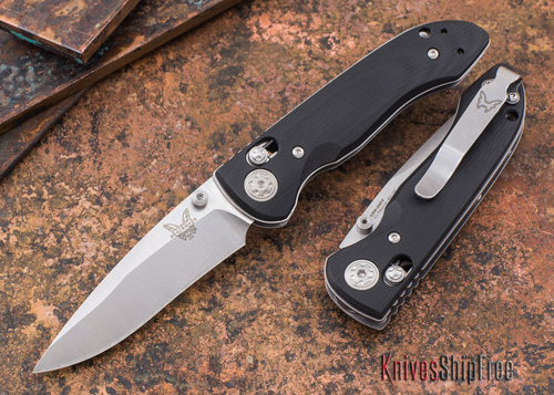 Benchmade Knives: 698 Foray - Black G-10