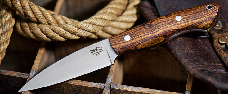 Bark River Knives: Bush Seax Bantam