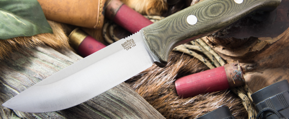 Bark River Knives: Bravo 1 - CPM 154 - Field Version