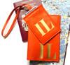 Mia Customized Passport Holder & Sasha Luggage Tag Set, Personalized Passport Cover & Luggage Tag Set