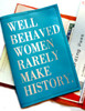 Well Behaved Women Rarely Make History Passport Cover, Witty Leather Passport Cover, Women's Personalized Passport Holder, Custom Leather Women's Passport Cover