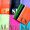 Mia Personalized Leather Passport Holder - Orange, Navy, Purple, Mint, Warm Pink, Turquoise, Leaf Green