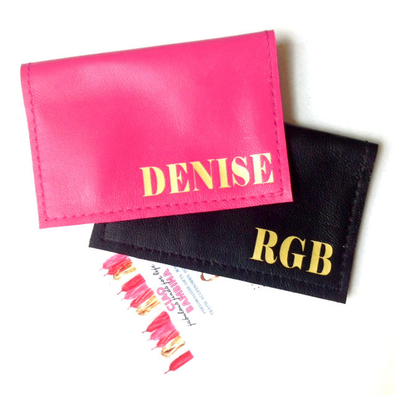 City personalized monogram leather business card holder city personalized monogram leather business credit card holder colourmoves