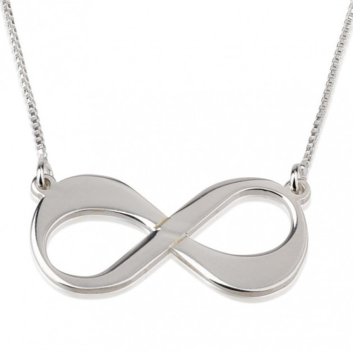 Infinity Symbol Love Necklace Gold Plated