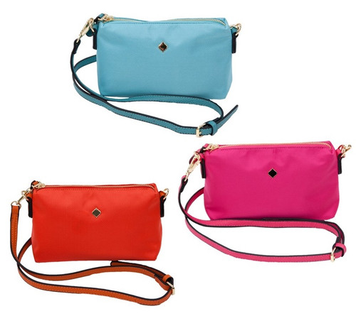 Georgetown Nylon Crossbody Bag/ Wristlet