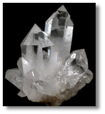 Raw Quartz Crystal Example