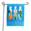3 Sisters Garden Flag & Wrought Iron Pole Stake
