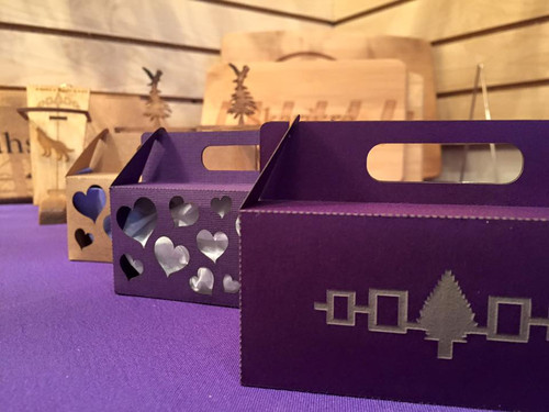 Laser-Cut Cardstock Candy & Trinket Box