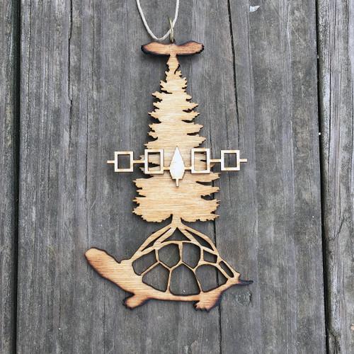 Tree of Peace on Turtle Island with Hiawatha Belt