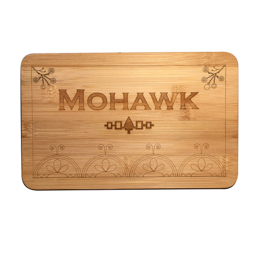 Six Nations Bamboo Cutting Board