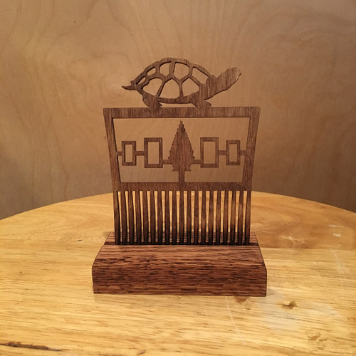 Turtle Hair Comb