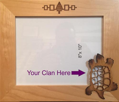 Wooden Haudenosaunee Clan Frame