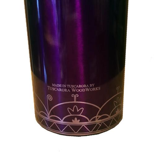 Clan with Hiawatha Belt 16oz Purple Insulated Tumbler