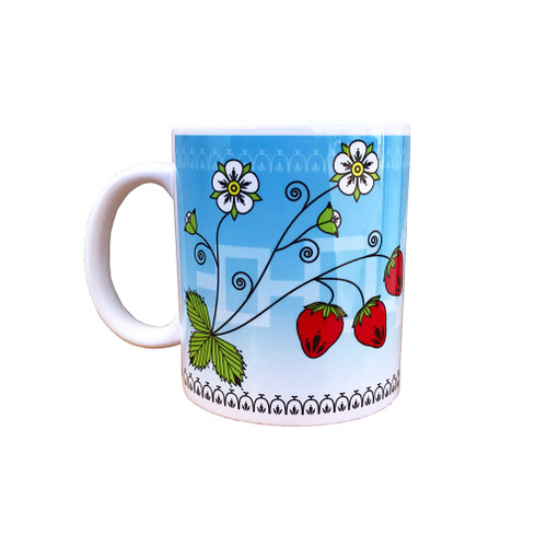 Strawberry 11 oz. Coffee Mug