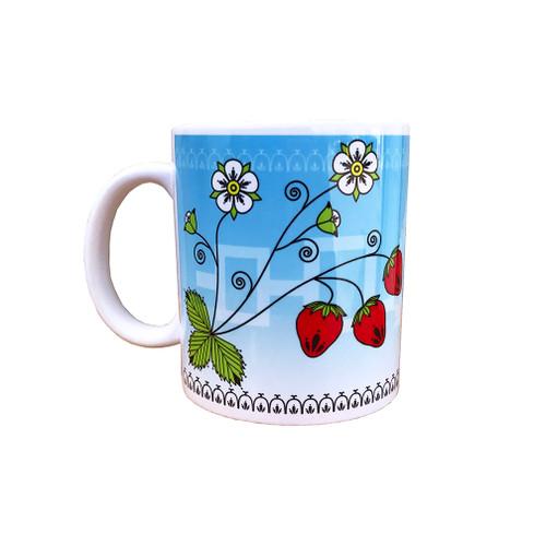 Strawberry 11 oz. Coffee Mug