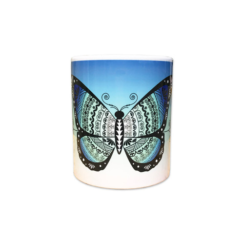 Butterfly 11 oz. Coffee Mug