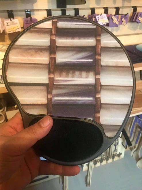 Ergonomic Mouse Pad with Wampum Design
