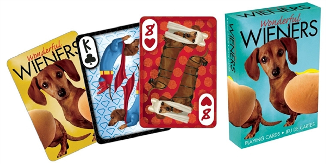 Wonderful Wieners Playing Cards