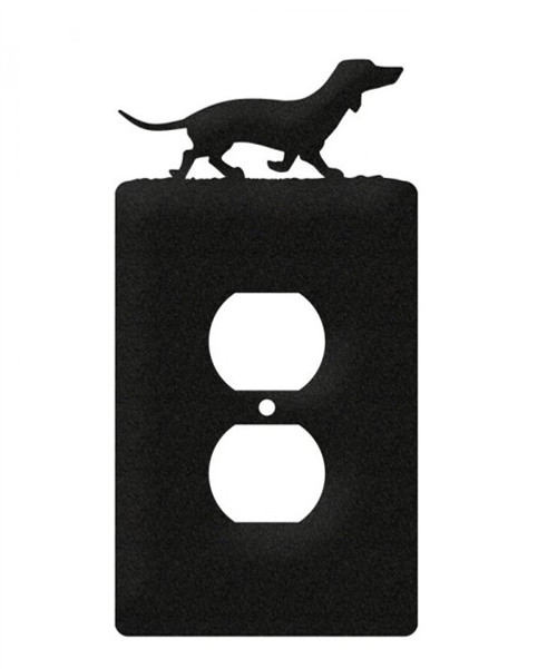 Dachshund Electrical Outlet Cover