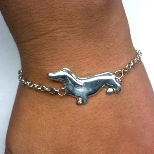 Dachshund I.D. Style Bracelet