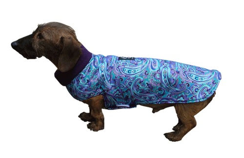 Designer Fabric Cuddler Dog Coat