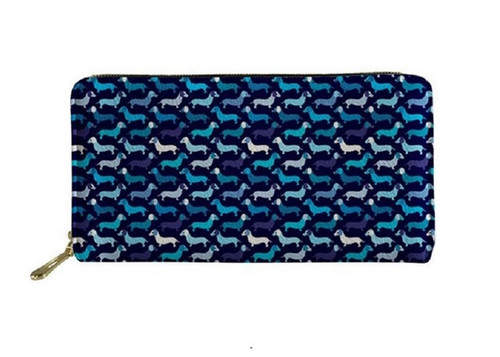 Midnight Parade Dachshund Ladies Wallet