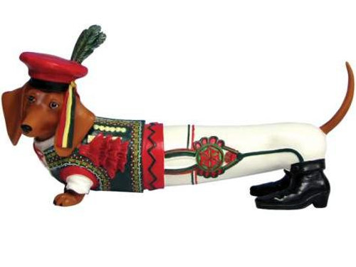 Polish Dog Dachshund Figurine (RARE)
