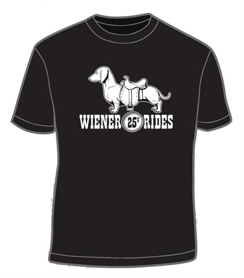 Wiener Rides 25 Cents T-shirt