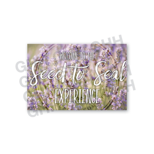 Welcome Card Pack - Seed to Seal