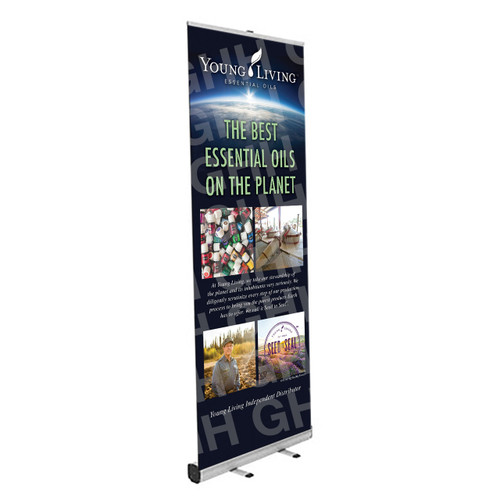 YL Standing Banner - Planet