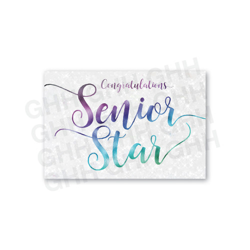 Rank Cards - Senior Star Package