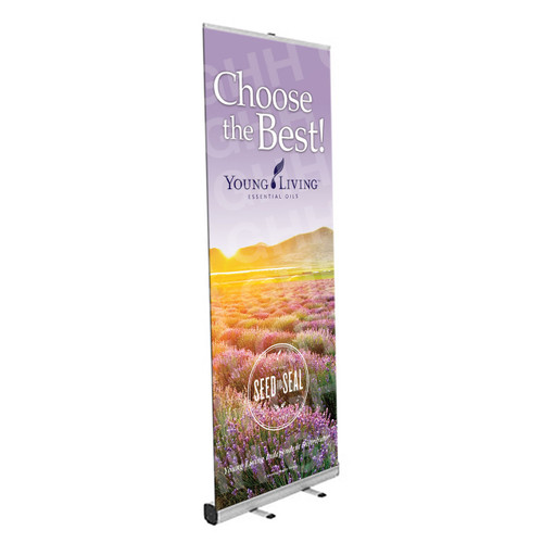 YL Standing Banner - Choose the Best