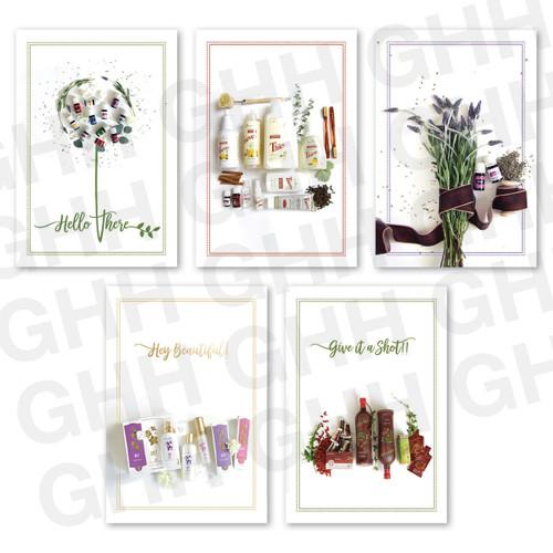 Flourish Postcard Pack